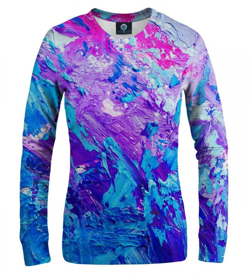 różowo-fioletowa bluza