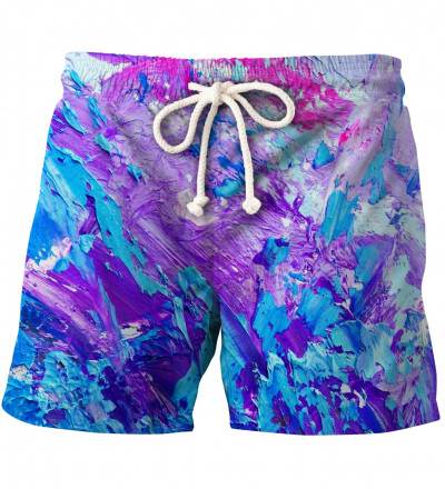 pink and purple shorts