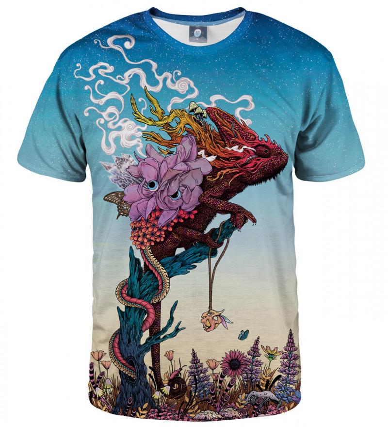 tshirt with lizard motive