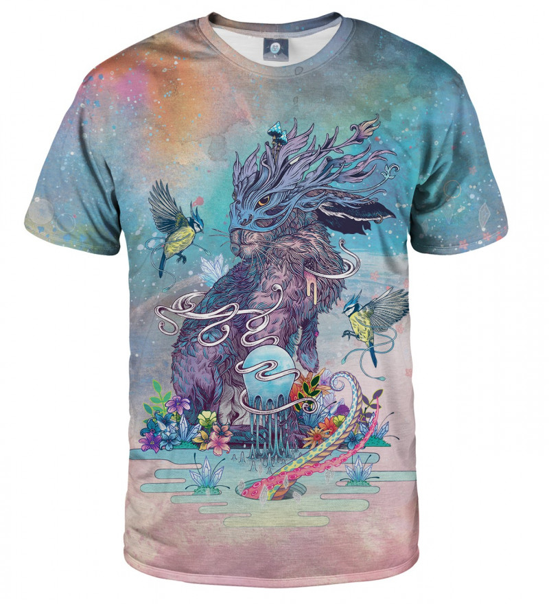 tshirt with rabbit motive