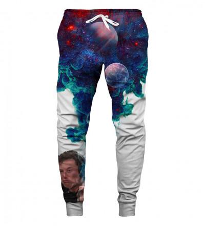 spodnie z motywem elona musk'a
