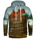 Bluza z kapturem Tower of Babel