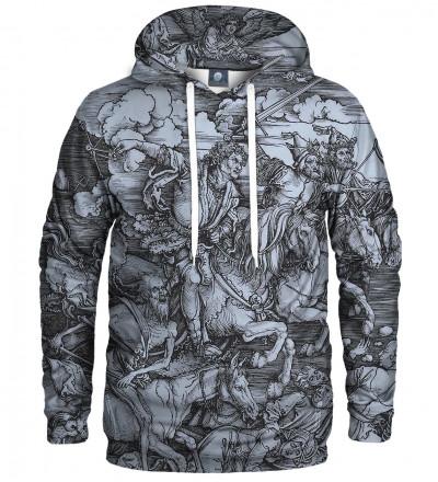 hoodie with art motive