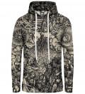 Durer Series - Fifth Seal women hoodie, by Albrecht Durer