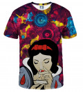 tshirt with snow white motive