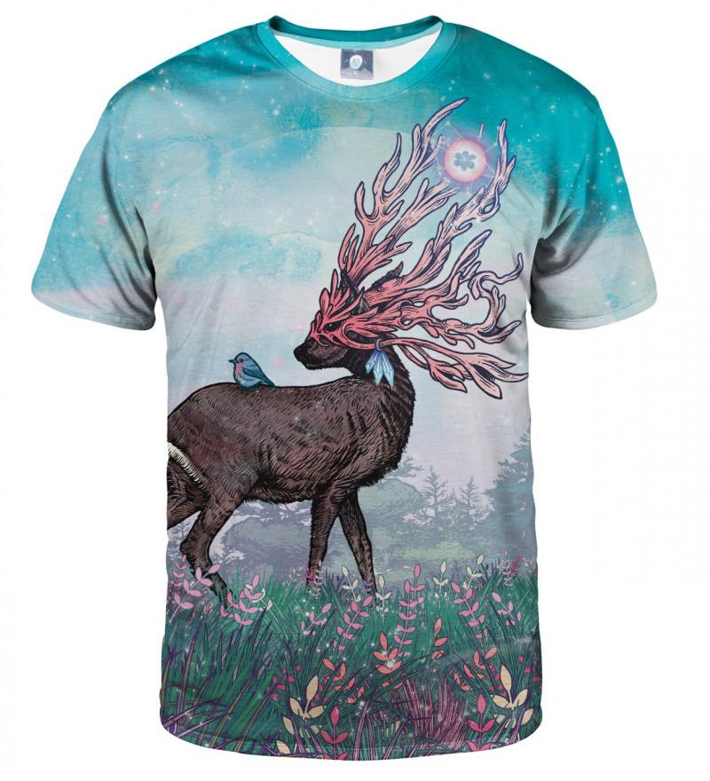 koszulka z motywem jelenia