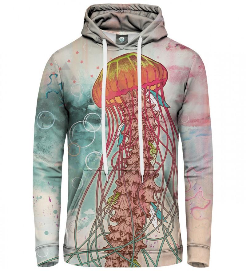 hoodie with jellyfish motive
