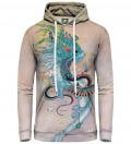 Journeying Spirit - Ermine women hoodie