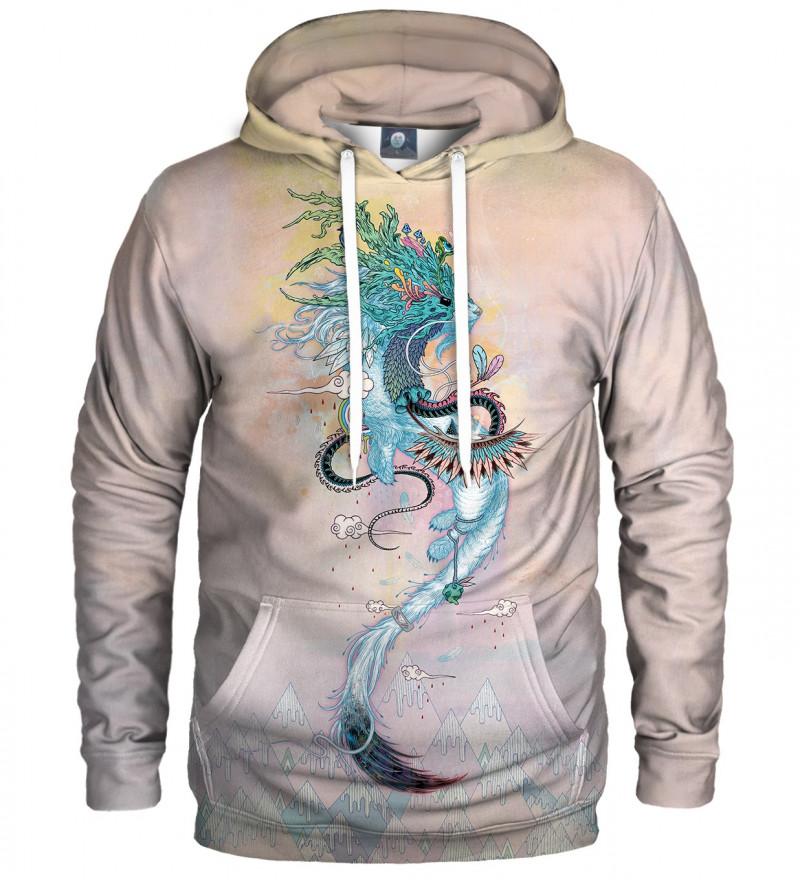 hoodie with ermine motive