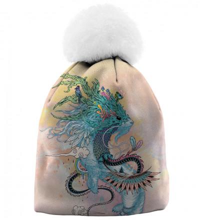 czapka z motywem gronostaja