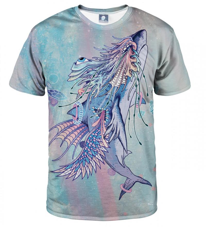 koszulka z motywem rekina