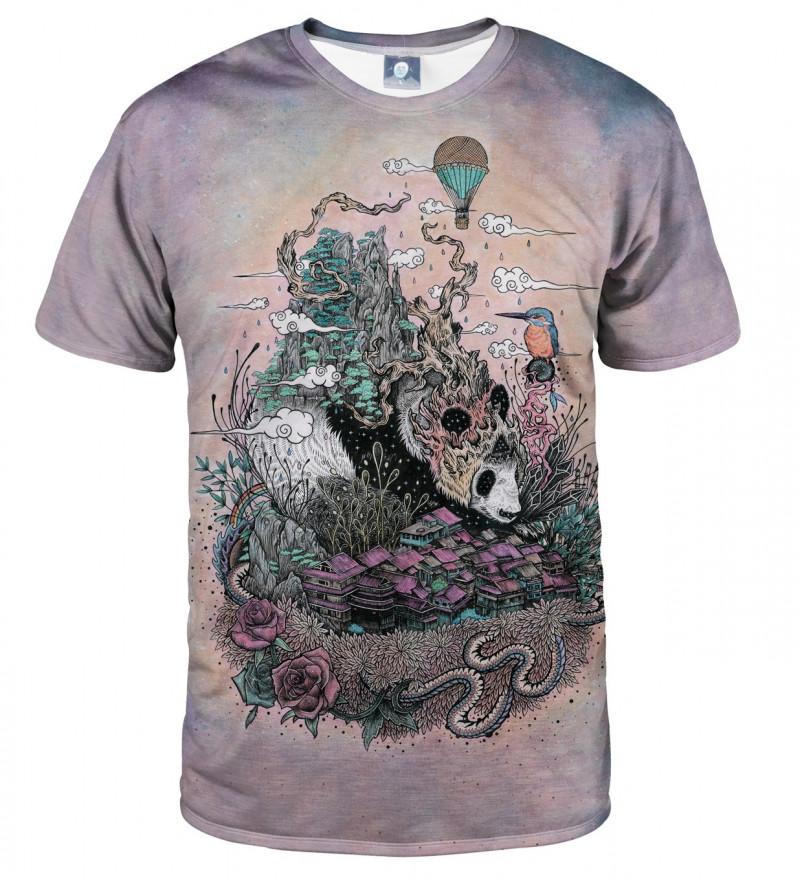 tshirt with sleeping panda motive