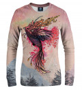 sweatshirt with phoenix motive