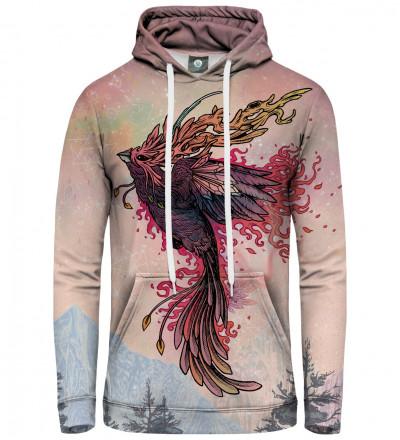 hoodie with phoenix motive