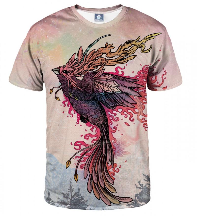 koszulka z motywem feniksa