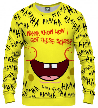 sweatshirt with spongebob motive