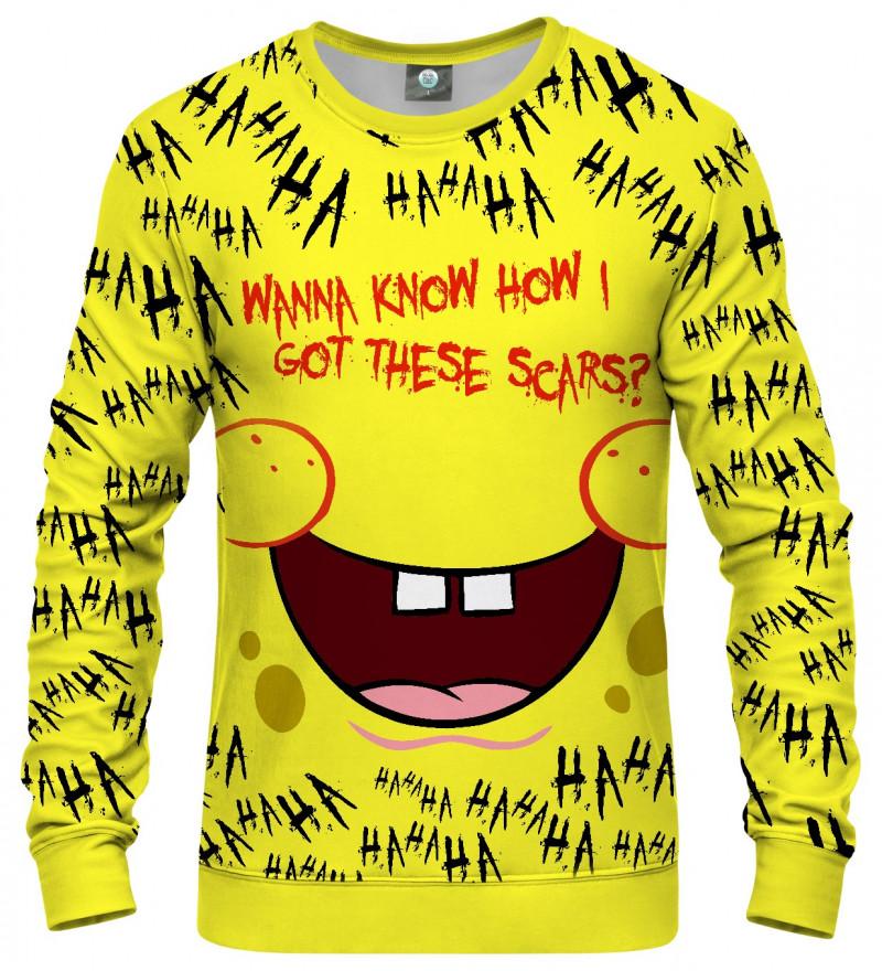 sweatshirt with spongebob motive