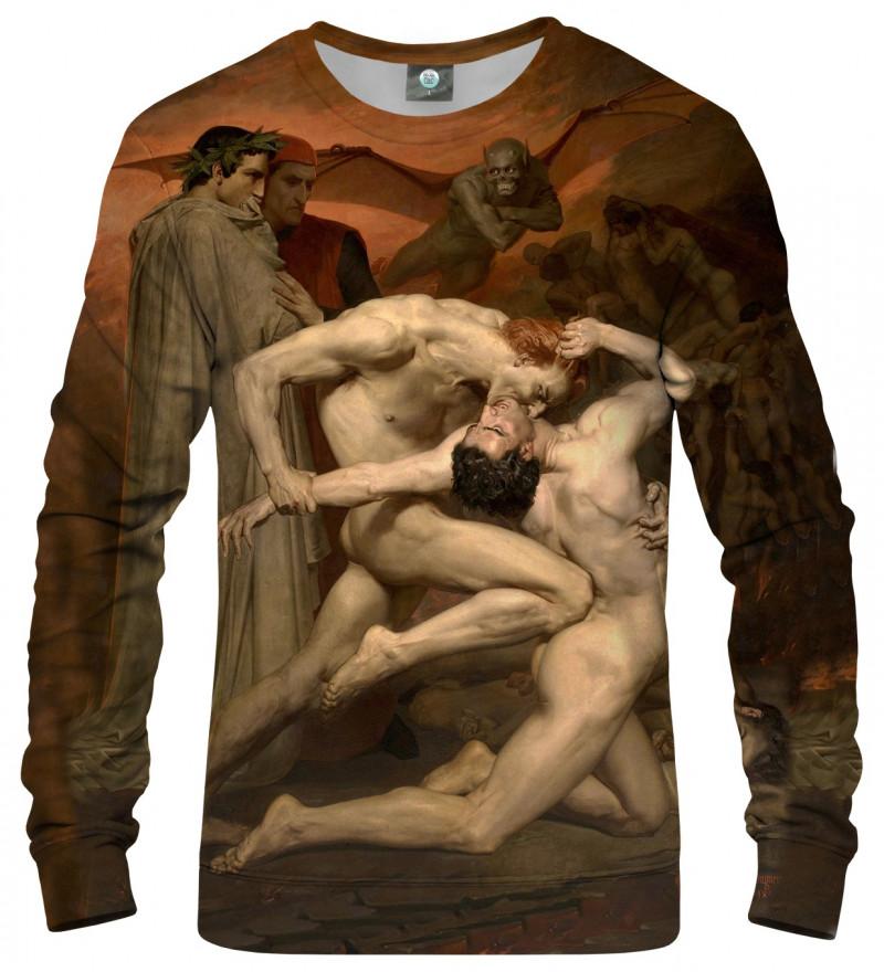 bluza z motywem artystycznym