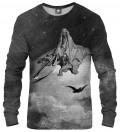 Dore Series - Death Raven Sweatshirt, by  Paul Gustave Doré