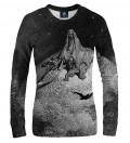 Dore Series - Death Raven women sweatshirt, by Paul Gustave Doré