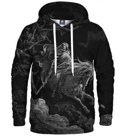 hoodie with art motive