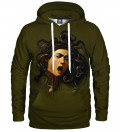 Head of Medusa Hoodie, by Caravaggio