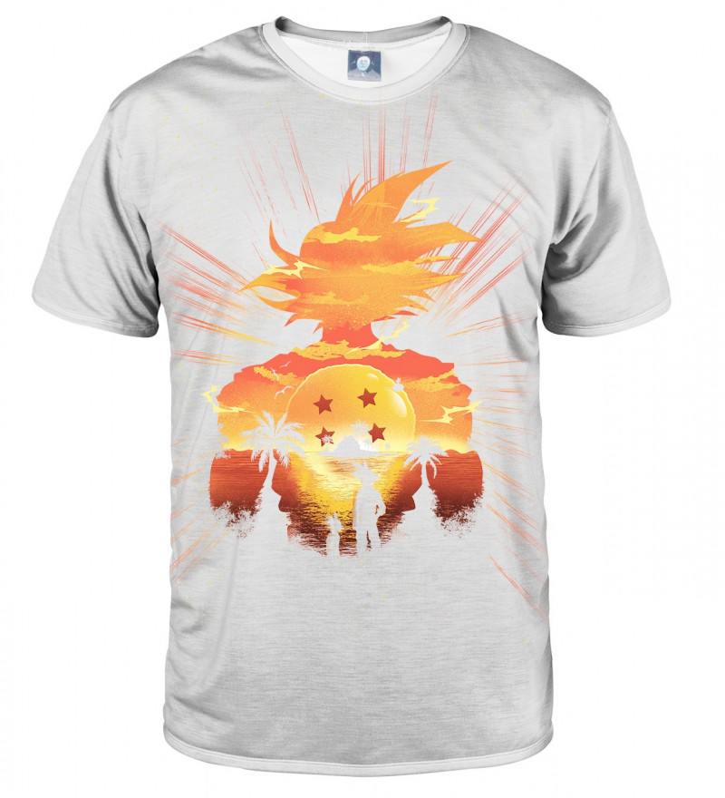 White Super Saiyan T-shirt - Official Store