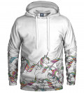 hoodie with unicorn motive