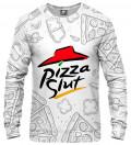 bluza z motywem pizzy