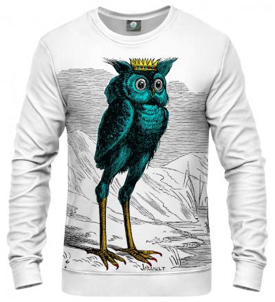 sweatshirt with stolas motive