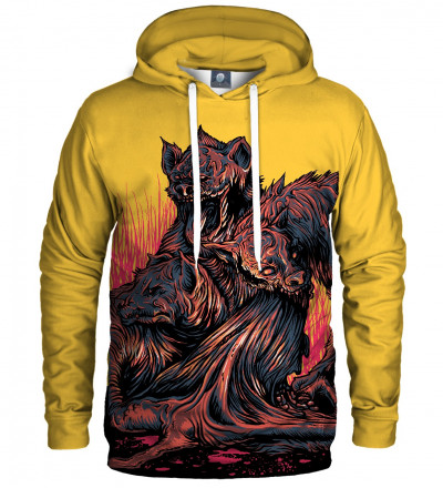 hoodie with demons motive