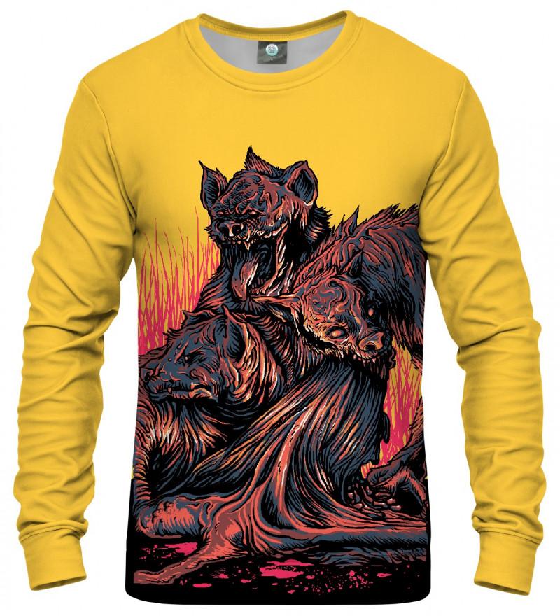 bluza z motywem demonów