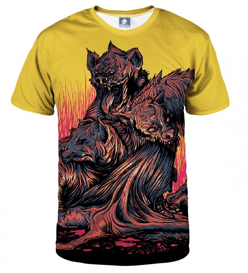 tshirt with demons motive