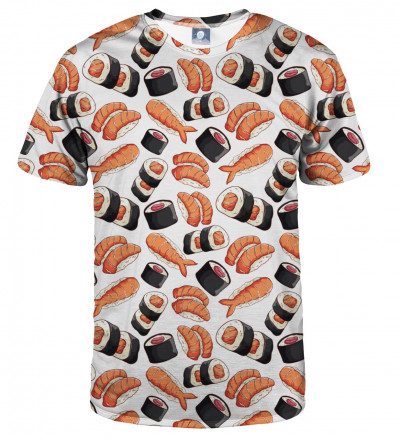 tshirt with sushi motive