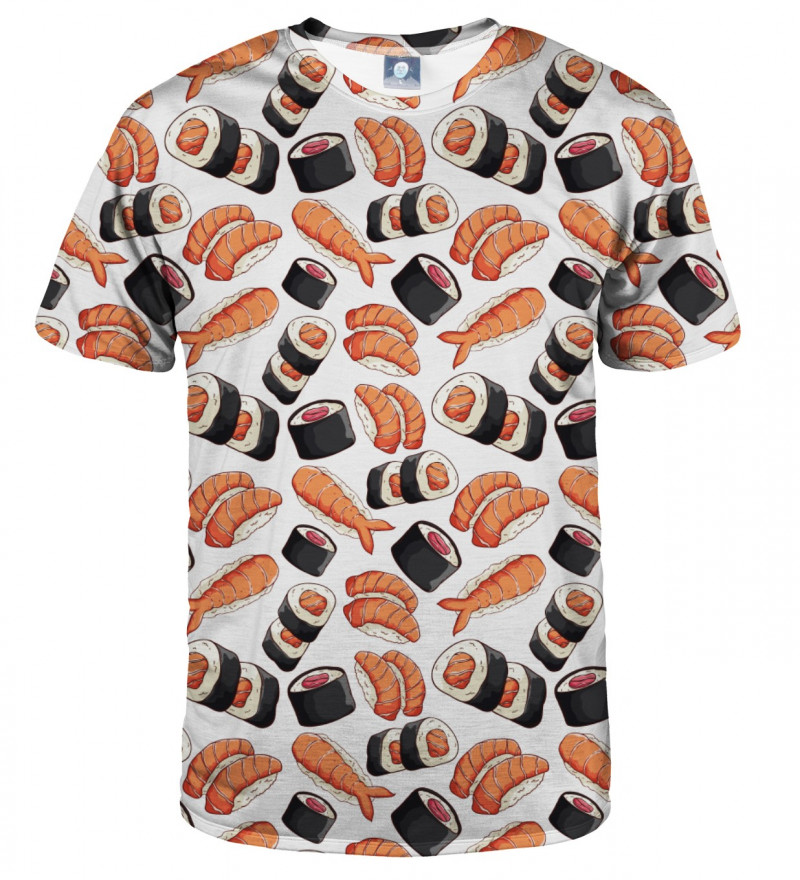tshirt with sushi motive