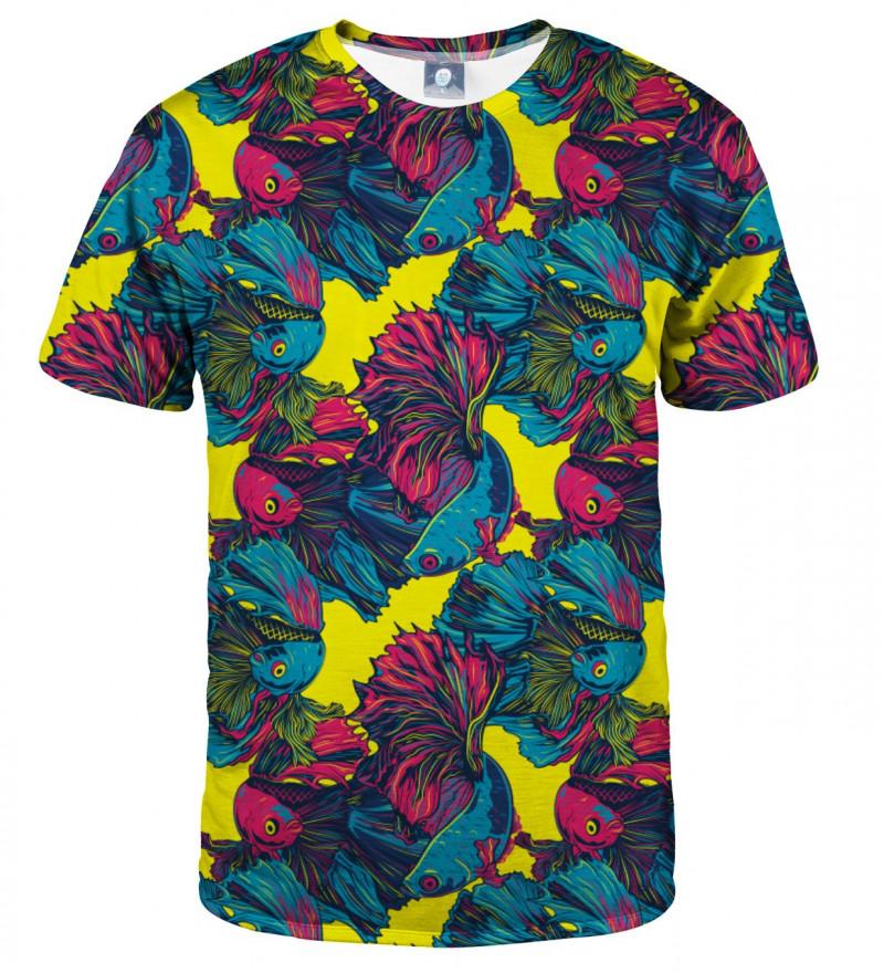 tshirt with fish motive