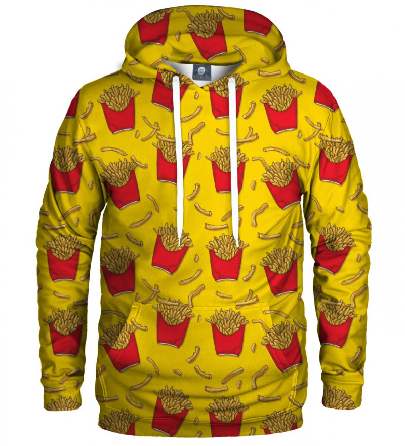 hoodie with fries motive