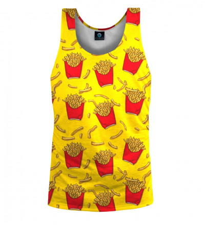 tank top ith fries motive