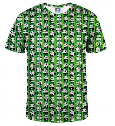 tshirt with pandas motive