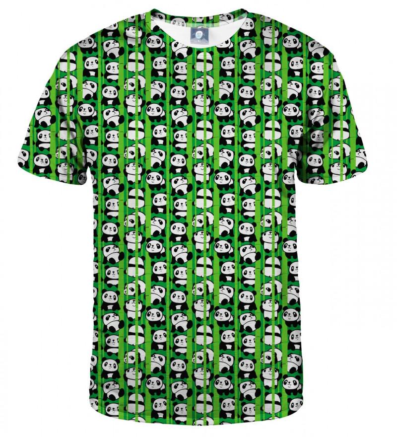 tshirt with pandas motive