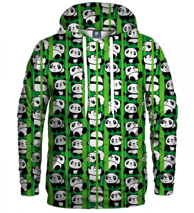 hoodie with pandas motive