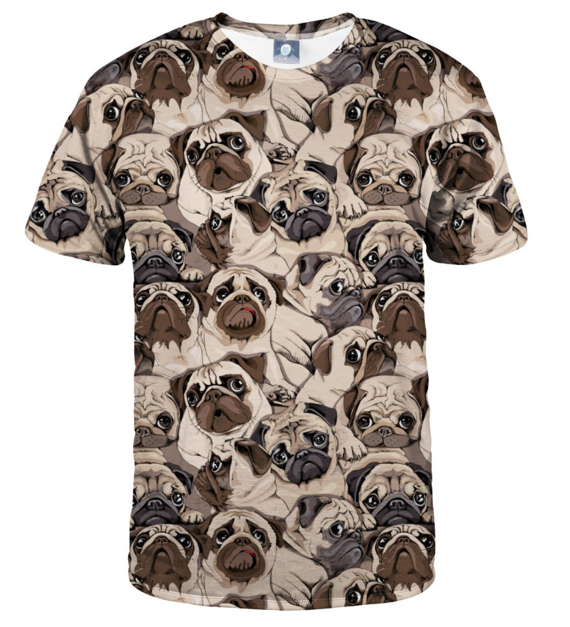 koszulka z motywem psów
