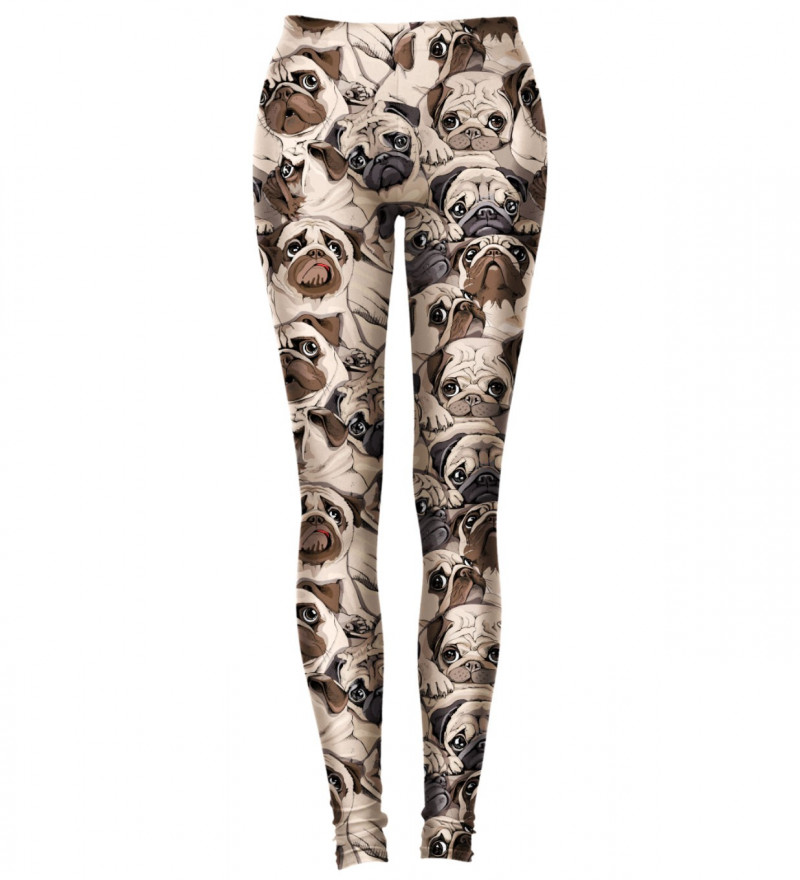 leggings with dogs motive