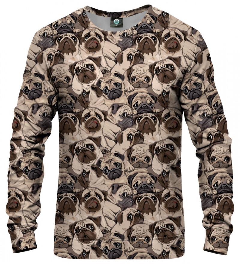 bluza z motywem psów