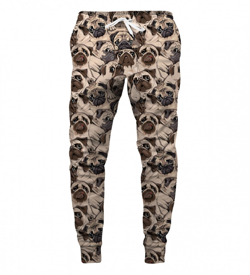 sweatpants with dogs motive