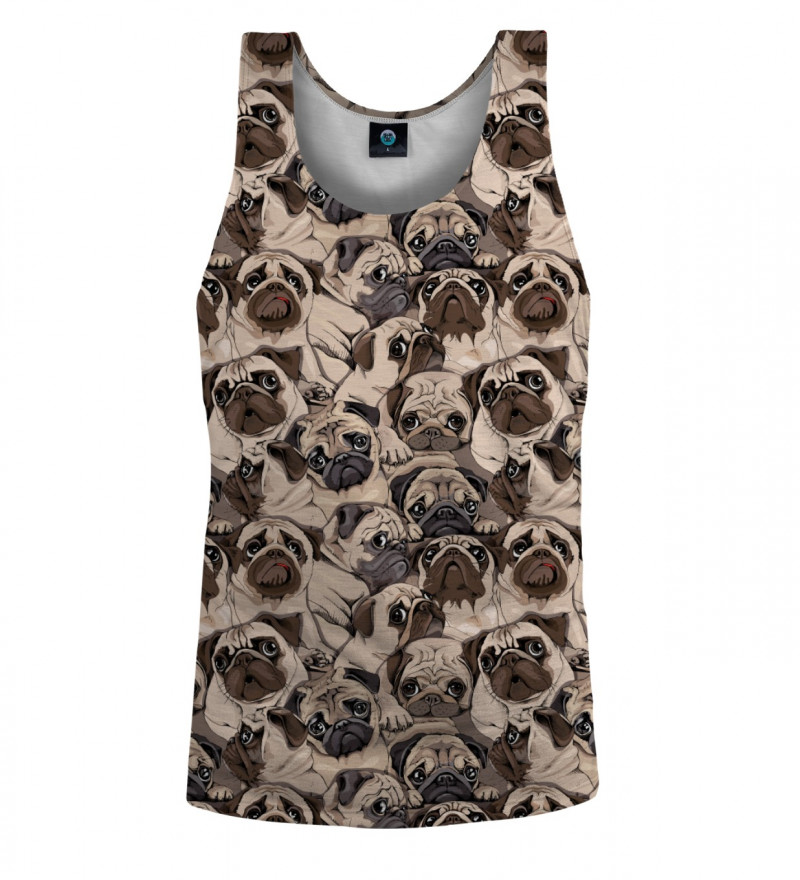 tank top with dogs motive