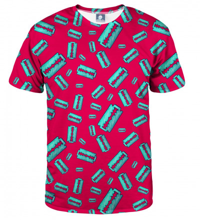 tshirt with razor motive