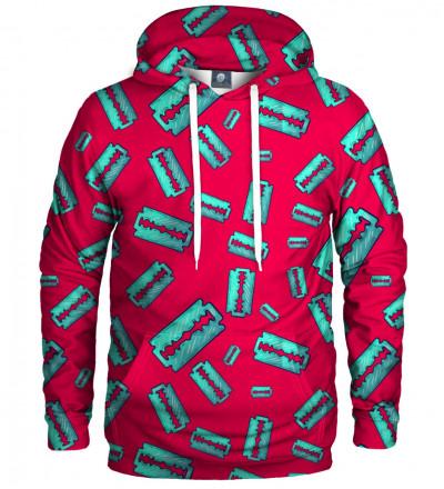 hoodie with razors motive