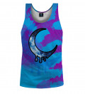 Crescent Tie Dye Tank Top