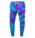 Crescent Tie Dye Sweatpants